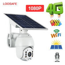 Wifi Solar panel power IP speed dome cameras P2P mobile control solar charge