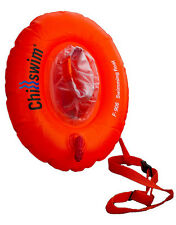 Swim Secure Chillswim - Open Water Swimmers Tow Donut Float with Dry Bag Pouch