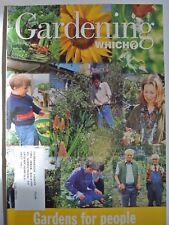Gardening Which? Magazine. June, 1998. Gardens for people.