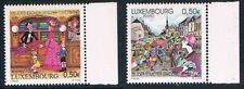 Luxembourg 2004 Mi N°1634 - 1635 Mnh**  75 Years of the Luxembourg Ville Annual
