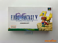 FINAL FANTASY V 5 Nintendo Super Famicom SFC JAPAN Ref:314636