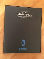 Star Trek The Original Series Mercury Phone Cards & Binder Kirk Spock McCoy Sulu