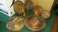antique Chinese sewing baskets - nested set - circa 1900-1910