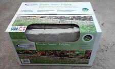 4 Boxes Suncast Landscape Design Border Decorative Natural Rock Stone Edging