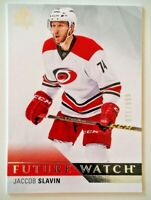 2015-16 SP Authentic FUTURE WATCH #203 Jaccob Slavin RC 071/999