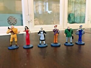 6 Collectible Suspect Tokens  Clue Parker Brothers Detective  Board Game 2002