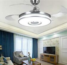 """New Listing42"""" Smart Bluetooth Ceiling Fans with Lights and Music Speaker Modern Chandelier"""