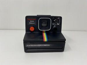 polaroid land camera supercolor 1000 deluxe fotocamera PER PARTI DI RICAMBIO