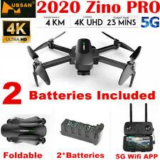 Hubsan Zino PRO 4.5KM 5G Wifi FPV 4.5KM DRONE--- 12MP 4K Camera 3Gimbal+2Battery