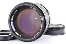 【Exce+++】 Canon NEW FD 85mm f/1.8 MF SLR Lens From JAPAN A265