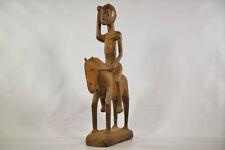 "00004000 Dogon Equestrian Figure 26"" - Mali - African Art"