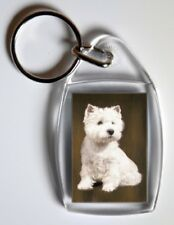 West Highland White Terrier Key Ring By Starprint