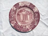University of California Berkeley Wedgwood Centennial Edition Red Plate Biochemi