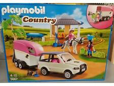 Playmobil Country 5667  Reitstall mit Pferdetransporter