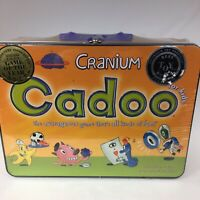 Cranium Cadoo For Kids Game Tin- New- Factory Sealed-  Ages 7 & Up