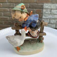 "Goebel Hummel. W Germany Porcelain Figurine ""Barnyard Hero"" 195 2/0. Tmk5"