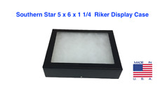 5 X 6 X 1 14 Riker Display Case Box For Collectibles Arrowheads Jewelry Ampmore