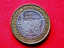 £ 2 Coin Richard Trevithick Locomotiva
