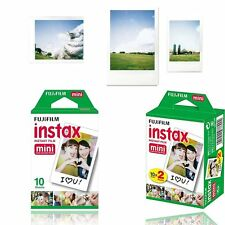 Fujifilm Instax White Film 30pcs For Fuji Mini 90 8 25 70 Instant Camera SP-1 US