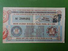 Malaysia Lottery Ticket : Lembaga Loteri Kebajikan & Perkhidmatan Masharakat :#4