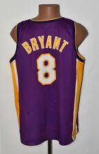 NBA LOS ANGELES LAKERS BASKETBALL SHIRT #8 BRYANT CHAMPION SIZE XL ADULT