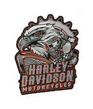 HARLEY DAVIDSON Eagle Engine 2X Patch 11 INCH HARLEY PATCH