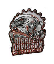 HARLEY DAVIDSON Eagle Engine 2X Patch 11 INCH HARLEY PATCH