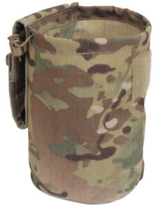Molle Roll Up Ammo Dump Pouch For Empty Magazines Multicam Camo Rothco 51009