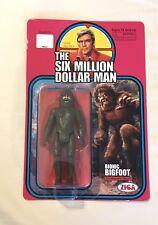 2013 Six Million Dollar Man Bionic Bigfoot Sasquatch Beast Action Figure Zica