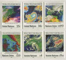 WORLD WEATHER WATCH 1989 - MNH SET OF SIX (R51-RR)