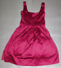 Teeze Me Juniors Satiny Hot Pink Sleeveless Girls Prom Party Formal Dress 3