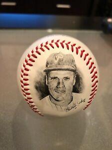 MLB Rich Ashburn Phillies Legends Fotoball Baseball