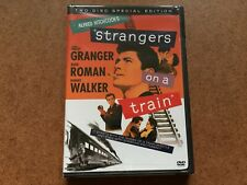 Alfred Hitchcock'S Strangers On A Train Dvd New & Sealed