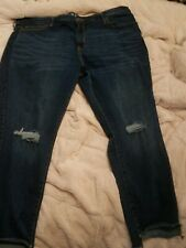 Ava and viv plus size denim Jeans With Step Cuffs