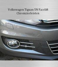 VW Tiguan 5N - 3M Chrom Zierleisten Chromleisten Nebelscheinwerfer NSW