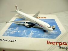 Herpa Wings 508674 1:500 airbus a 321 aero lloyd, en embalaje original