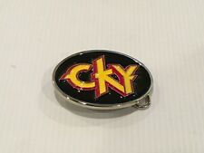 CKY 2005 concert belt buckle.very collectible .