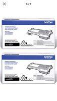 2-Pack BROTHER Genuine OEM TN450 Toner High Yield TN-450 •FREE SHIPPING• NIB