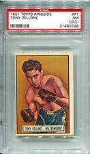 Tony Pellone 1951 Topps Ringside #71 Boxing Card PSA 7 o/c Welterweight Fighter