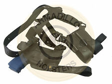 Left Hand Black Leather Horizontal Miami Vice Shoulder Holster Sig Sauer (P4L)