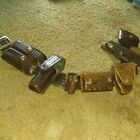 Tex Shoemaker Basketweave vintage police belt and accessories holster and cases