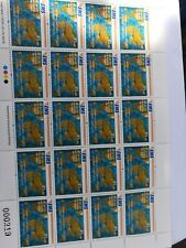 Sri lanka new stamp UPU EMS Cooperative full sheet (20 stamps)