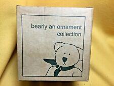 Longaberger Bearly an Ornament Bear Ornament