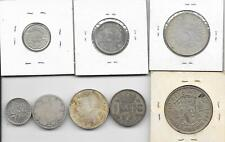 Holiday Gift Idea! 8 Diff Silver Coins from 8 Diff Countries Free US Shipping