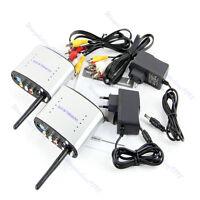New Wireless 2.4GHz AV Sender TV Audio Video Transmitter Receiver PAT-330