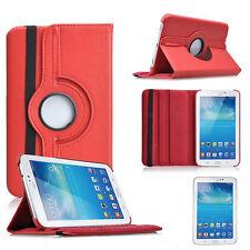 "Samsung Galaxy Tab 2 P3100 7"" 360° CASE COVER SCHUTZ HÜLLE ETUI TASCHE ROT"