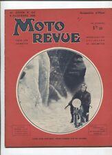 Moto Revue N°717  ; 5 decembre 1936 : le salon de Londres 7 croquis