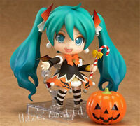 Anime Hatsune Miku Nendoroid Halloween PVC Figure Toy Gift 4''