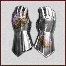 Medieval Steel Gauntlet Gothic Gloves Knight Iron Gloves Gauntlets Xmas Gift