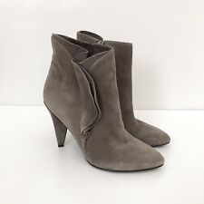 NEW Marc By Marc Jacobs Womens Sz 36 US 6 Ankle Boot Suede Heel Zipper
